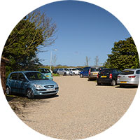 Cley village hall car park